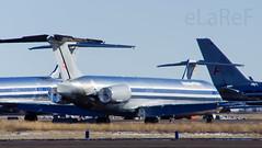 N433AA McDD MD-83 c/n 49451 American Airlines (eLaReF) Tags: n433aa mcdd md83 cn 49451 american airlines roswell nm krow aeroplane airplane boneyard parting out scrapyard roswellinternationalaircentre roswellinternationalaircenter