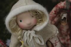 Freyja, the middle child (Fig & Me) Tags: christmas forest linen florals handmadedoll dollclothing naturaltoys figandme petitefig naturalfiberartdoll