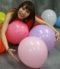 How Many New Years Balloons (emotiroi auranaut) Tags: woman game colors girl beautiful beauty smile face smiling japan lady hair balloons asian fun toy happy japanese model asia gorgeous joy adorable happiness babe round attractive grin grinning catch charming cheerful joyful happynewyear fetching