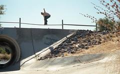 nikon portra400123 (dannondale) Tags: skateboarding ditches 35mm nikon f2a