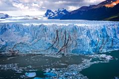 Perito Moreno Glacier, Patagonia (BlindThirdEye) Tags: argentina peritomoreno elcalafate elchalten patagonia fitzroy landscape icescape glaciers mountains snow sunset wideangle flickrtravelaward