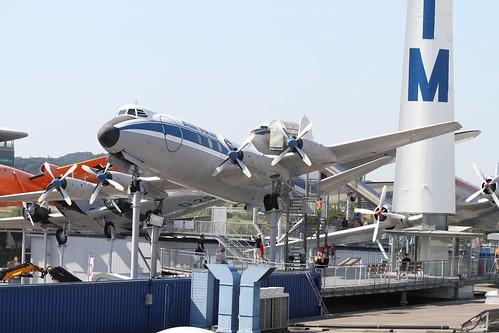 Flugzeug Vickers Viscount 800