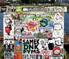 stickercombo (wojofoto) Tags: stickers stickerart stickercombo sticker wojo streetart amsterdam nederland holland netherland wojofoto wolfgangjosten psyco nol noxin isoe samek fyms farao bunnybrigade klebos area