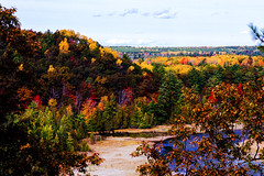 Au Sable Fall Color 2016 (hz536n/George Thomas) Tags: 2016 cs5 canon canon5d michigan october color copyright fall trees upnorth westgatescenicoverlook ef24105mmf4lisusm woods forest ausable