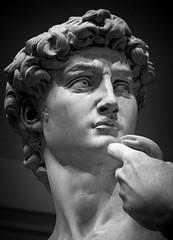 David (JoshyWindsor) Tags: sculpture accademia canonef70300mmf456l tuscany david art travel blackwhite renaissance michelangelo italy firenze canoneos6d europe holiday florence