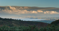 Quantock Clouds (PKpics1) Tags: quantocks hills clouds bay water sea landscape seascape sunset