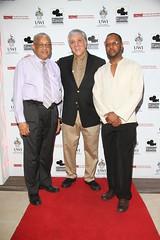 GATFFEST 2015 Opening Night_ left to right (Prof Archibald McDonlad, US Ambassador Luis Moreno and Prof Ian Boxill