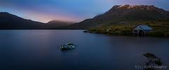 Cradle Mountain - it's out there somewhere! ([v] style + imagery) Tags: tasmania dove lake cradle mountain australia