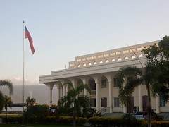 Government Building and Flag (mikecogh) Tags: apia samoa government ministry architecture imposing formal flag