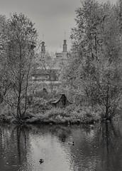 Ekaterinensky Park. Moscow. (rededia) Tags: city cityscape moscow monochrome blackandwhite blackwhite nikon tamron water tree park mosque