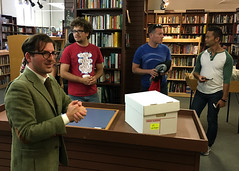 Bookshelf  CO&P SF 2016  Urban Explorations (joshleejosh) Tags: coap coapsf comeoutandplay comeoutandplaysf coapsf16 games play art community bookshelf readers bookstore scavengerhunt
