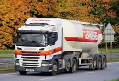 SCANIA R420 - TURNERS Larkhall (scotrailm 63A) Tags: lorries trucks tankers