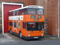 Preserved GM Buses 4706 (A706LNC) 15102016e (Rossendalian2013) Tags: preserved bus manchester greatermanchestertransport greatermanchesterpte gmpte gmbuses gmbusessouth leyland atlantean an68 northerncounties a706lnc