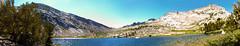 Vogelsang Lake (Lost in Flickrama) Tags: yosemite nationalpark rocks mountains trees lake sky blue pinetrees logs granite trail backpacking hiking trekking wilderness california vogelsang mountain