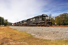 NS 363 (Steve H. Railfan Shots) Tags: emd sd70 sd60 d944cw norfolksouthern railroad railway railfan train manifest freight lindale ga georgia