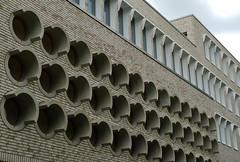 Hospitalhof Stuttgart by Lederer Architects. (Winfried Scheuer) Tags: building porthole repetition