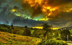 Morning antagonism between sun, clouds and fog (Steppenwolf33) Tags: sunrise clouds fog sky steppenwolf33 wolken himmel nebel sonnenaufgang