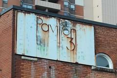 Pavilion 3 (jmaxtours) Tags: sign hamilton hamiltonontario hamiltonsign pavilion3 rust rusty wear