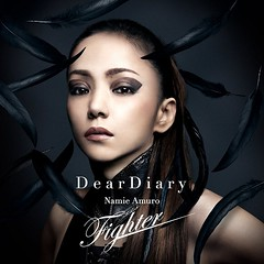 (CD+DVD) Dear Diary_Fighter_single 2016.10.26 (Namie Amuro Live ) Tags: namie amuro  deardiary deathnote fighter cddvd singlecover dvdcover