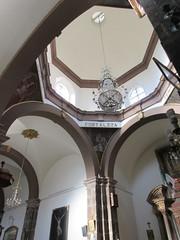 View into dome, Templo de Nuestra Seora de La Salud, San Miguel de Allende, Mexico (Paul McClure DC) Tags: sanmigueldeallende mexico bajo guanajuato nov2016 church historic