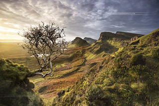 The Quiraing Isle of Skye Highlands of Scotland