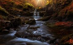 Recuerdos de Otoo (sgsierra) Tags: cebollera premio rioja parque natural otroo ro cascada fall river espaa spain
