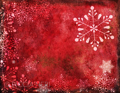Red Christmas card with snowflakes (PicciaNeri) Tags: watercolour festivities snowfall ornate nature unique icy xmas christmas greetings red crystal seasonal festive celebration symmetry golden design artwork celebrate ice painted holidays copyspace color winter border abstract gold collection snowy cold snowflake snow seamless colorful pattern painting december motif holiday decoration colors card background decorative happy set