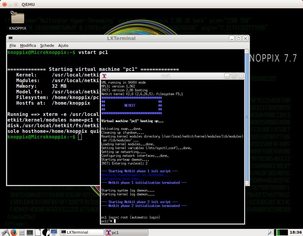 knoppix 7 7 1 remastered with netkit sandro doro tags knoppix netkit sdk
