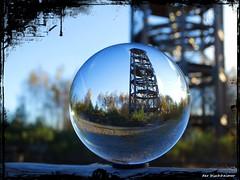 Der Haselbergturm ... (der bischheimer) Tags: kugel rund ball knigsbrck derbischheimer lausitz turm