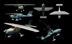 allview (tshapedcrew) Tags: 3d prototype plane custom preview visualisation commercial ls2plane tshapedindustrialdesign