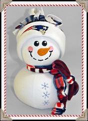 Pat the Snowman (Nice Threads) Tags: snowmen snowpeople snowballs patriots boston sports
