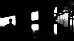 light and shadow 03 (michaelinvan) Tags: abstract light shadow sunset selfie building corridor richmond arena cellphonecamera samsung s4