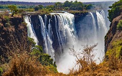 Vicfalls, dry season (werner boehm *) Tags: wenerboehm victoria falls simbabwe africa victoriafalls