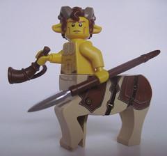 Tyhesepos (Quickblade22) Tags: centaur custom lego brickforge fantasy
