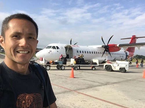 Bye #flores ! It's been great chillin' here for a day and seeing #tikal ! Taking this plane to #guatemalacity #avianca #centralamerica #fabulousjourneys #6monthstravel #travel
