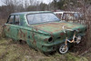 Bike Rack (cjb_photography) Tags: car junkyard mcleansautowreckers miltonon rust