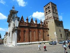 Mantua Cathedral, Piazza Sordello, MAntua (Kevin J. Norman) Tags: mantua lombardy piazzasordello