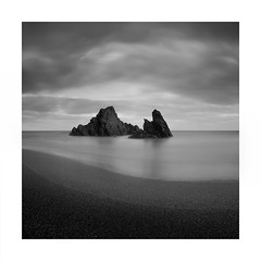 The couple (Nick green2012) Tags: seascape longexposure dark square rocks beach