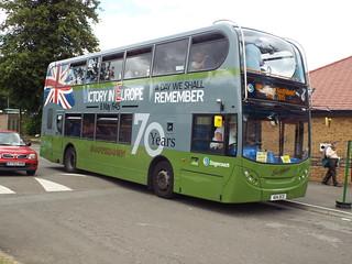 2009 Scania Alexander bodied Enviro 400 Double Decker Bus - Southdown Stagecoach no.15586 - 404 DCD