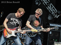 Dave Dunlop and Rik Emmett (amillionwalks) Tags: hot burlington triumph rikemmett summerconcerts soundofmusicfestival spencerpark davedunlop