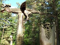 SDC12852a - LITHUANIA - LITHUANIE - Hill of Witches -  la Colline des Sorcires (peguiparis - 4 million visits) Tags: wood witches klaipeda sculptures lithuania bois nains sorcires dwarfes lithuanie