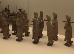 Ming Wooden Figurines (ArtFan70) Tags: china sculpture art statue shanghai statues figurines prc artmuseum figurine sh asianart huangpu shanghaimuseum peoplesrepublicofchina peoplessquare mingdynasty chn     huangpudistrict mingwoodenfigurines