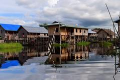 Nampan Pokpa, Inle lake, Myanmar (Birmania) D810 1014 (tango-) Tags: burma myanmar birmania  lagoinle    villaggilagoinle inlelakevillages