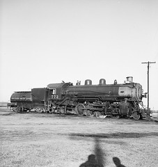 [Texas and New Orleans, Southern Pacific, Locomotive No. 773 with Tender] (SMU Central University Libraries) Tags: blw trains sp locomotive tno locomotives railroads steamtrain southernpacific steamlocomotive tenders espee southernpacificlines railroadyards baldwinlocomotiveworks