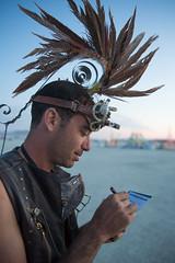 Burning Man 2015: Carnival Of Mirrors (jamenpercy) Tags: city carnival wild man black art festival rock america desert acid nevada culture mirrors blackrockcity burning mohawk percy 2015 jamen