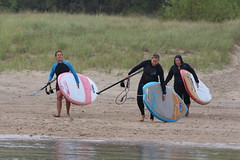 20150912_5086 (bobdunn7750) Tags: ladies friends canada color beach water smile rain three boards surf colours lakeerie board paddle adventure surfers sup aloha wetsuit 2015 livelife pleasantbeach freshcoast surfthegreats ladiesofthelakes