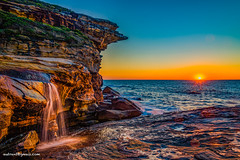 Y755782 (autrant) Tags: ocean cliff sunrise landscape sydney australia theroyalnationalpark nikkorafs1424f28ed nikond750