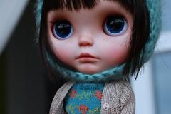 Saoirse The Nomad (Vainilladolly) Tags: cute carved doll ooak kawaii nomad blythe custom flickrtoys sculpted blythedoll ebl saoirse dollphotography toyphotography blythephotography vainilladolly