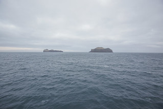 Exploring A Small Volcanic Island Off The Coast Of A Slightly Larger Volcanic Island