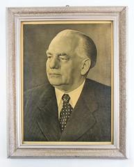 "Bild ""Wilhelm Pieck"" (DDR Museum) Tags: portrait berlin museum politik ddr sed politiker prsident pieck personenkult"